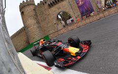 F1-Reise Fan Hotel Fairmont Baku, Flame Towers, Baku